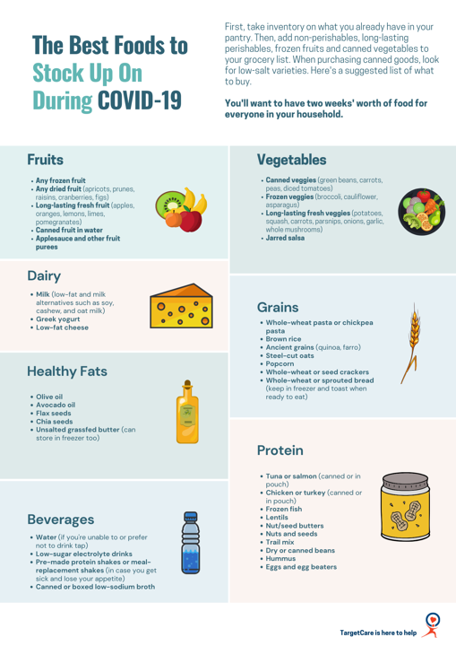 Foods to Stock Up on during covid-19 (1)